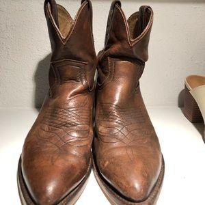 Frye Short Western Boots Size 8